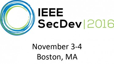 secdev logo with date and place